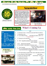 FCCC April 2017 Newsletter