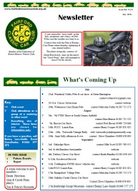 FCCC July 2016 Newsletter