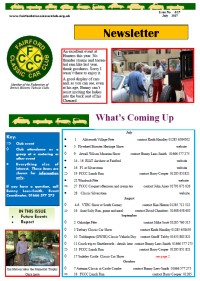 FCCC July 2017 Newsletter