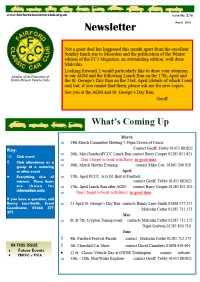 FCCC March 2016 Newsletter
