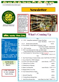 FCCC May 2017 Newsletter