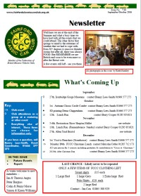 FCCC October 2016 Newsletter