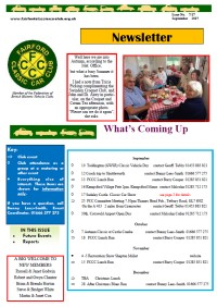 FCCC September 2017 Newsletter